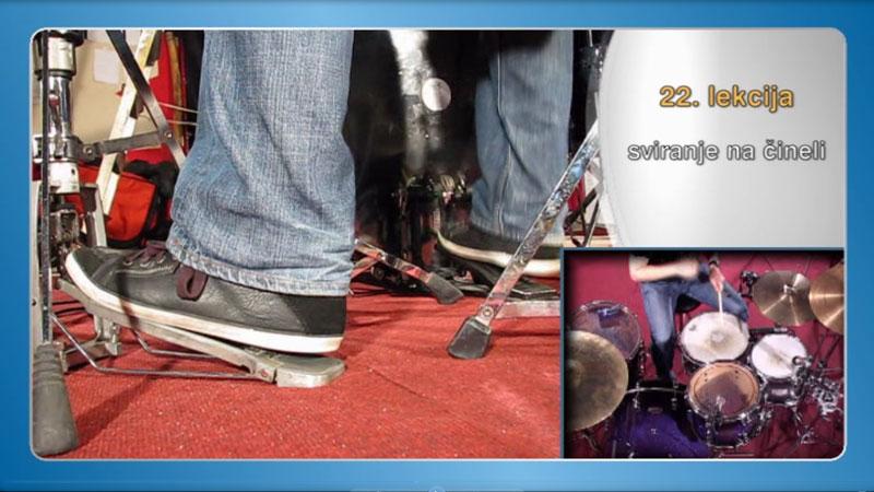 sviranje bubnjeva stopalka