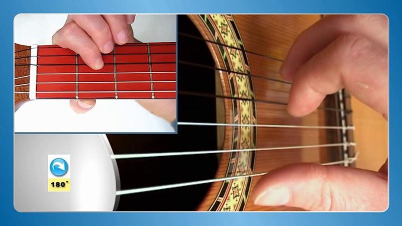 sviranje gitare prstima