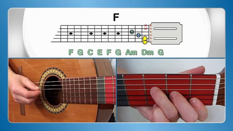 sviranje klacične gitare