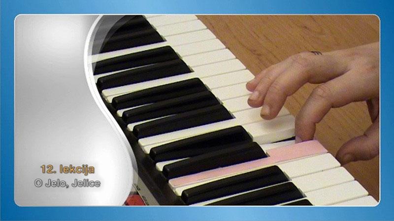 sviranje na klaviru