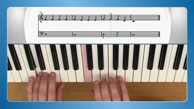 sviranje klavira sa notama