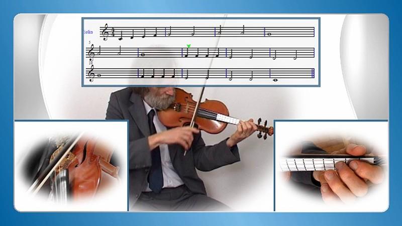 sviranje violine po notama