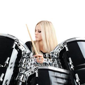 sviranje na klasične bubnjeve