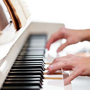 učenje klavira doma
